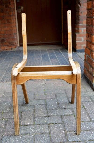 How to make a chair. How To Make Personalised Map Chairs - Step 1