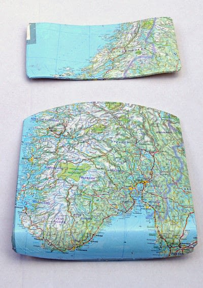 How to make a chair. How To Make Personalised Map Chairs - Step 4