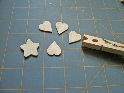How to make a clips. Little Clover Clips - Step 1