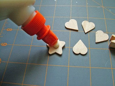 How to make a clips. Little Clover Clips - Step 2