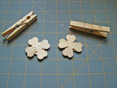 How to make a clips. Little Clover Clips - Step 4