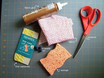 How to make a piece of doll furniture. Simple Dollhouse Sofas - Step 1