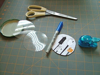How to make a board game piece. Birdhouse Pocket Game - Step 1