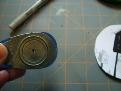 How to make a board game piece. Birdhouse Pocket Game - Step 3