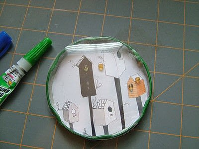 How to make a board game piece. Birdhouse Pocket Game - Step 5