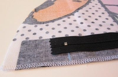 How to sew a zipper. Inserting A Regular Zipper  - Step 2