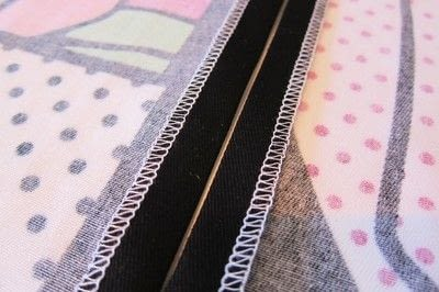 How to sew a zipper. Inserting A Regular Zipper  - Step 4