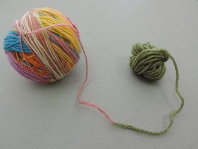 How to make a yarn. Make A Magic Yarn Ball - Step 5