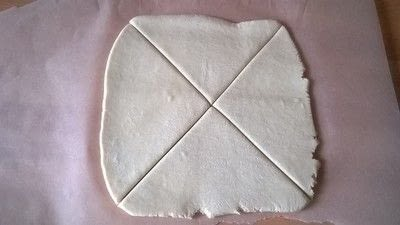 How to bake a pastry. Turnovers - Step 2