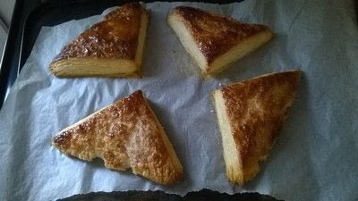 How to bake a pastry. Turnovers - Step 4