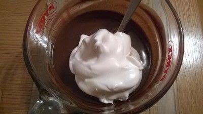 How to bake a mousse cake. Triple Chocolate Cake - Step 6