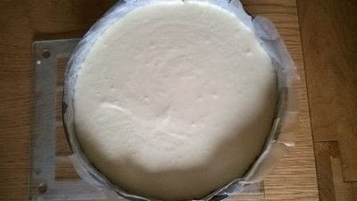 How to bake a mousse cake. Triple Chocolate Cake - Step 13