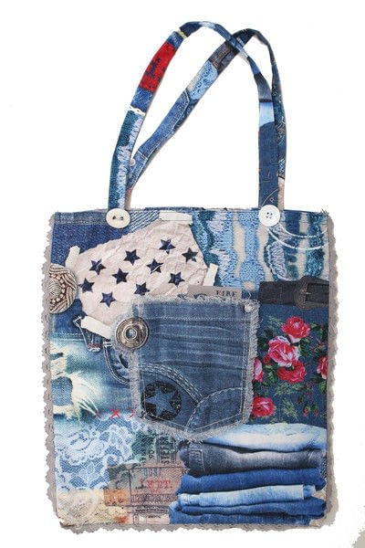 How to sew a patchwork tote. How To Make A Tote Bag! - Step 12