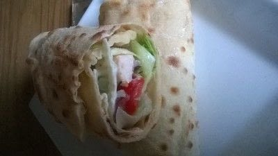 How to cook a wrap. Chicken Soulvaci - Step 5