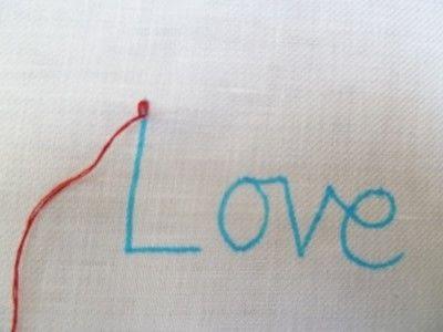 How to stitch . Chain Stitch Embroidery - Step 5