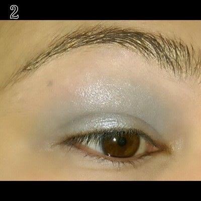 How to create a bold eyeliner look. Sweet doll eyes Makeup look - Step 2