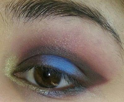 How to create a smokey eye. LimeCrime Venus 2 Colorful Smokey Eye - Step 5