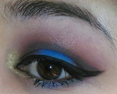 How to create a smokey eye. LimeCrime Venus 2 Colorful Smokey Eye - Step 6