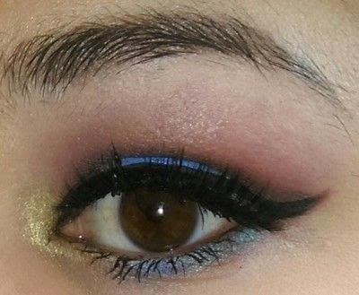 How to create a smokey eye. LimeCrime Venus 2 Colorful Smokey Eye - Step 7