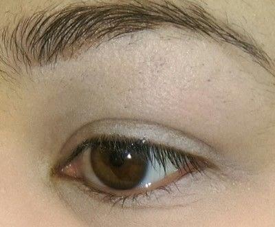 How to create a smokey eye. Neutral Brown Smokey Eye - Step 1