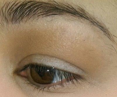 How to create a smokey eye. Neutral Brown Smokey Eye - Step 2