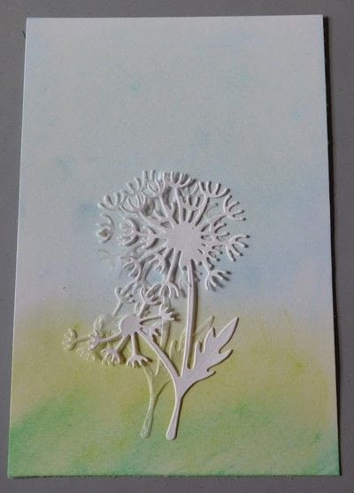 How to make a greetings card. Creating A Card From The Creating Shadows From Paper Technique - Step 2