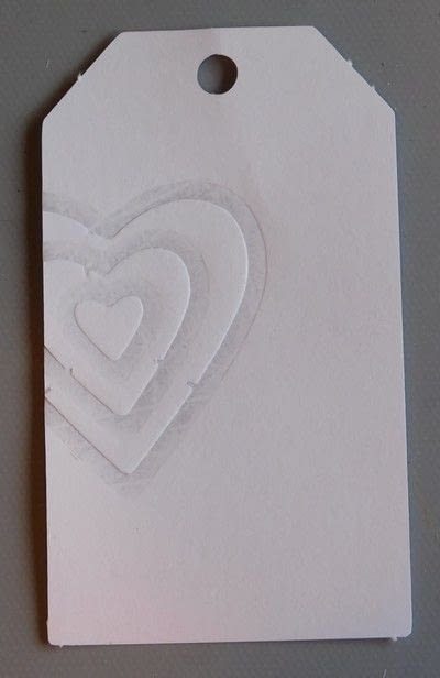 How to use a printing techniques. Embossing With A Die - Step 4