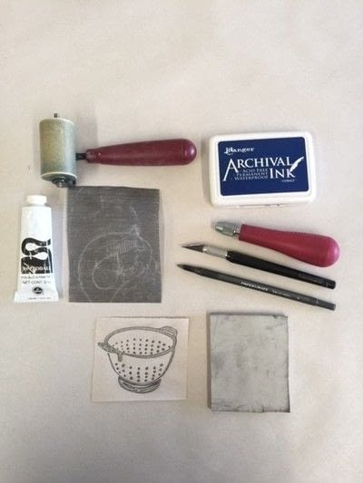 How to make a stamper. Carve Your Own Stamp! (And Stamp It Too!) - Step 1