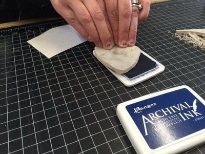 How to make a stamper. Carve Your Own Stamp! (And Stamp It Too!) - Step 11