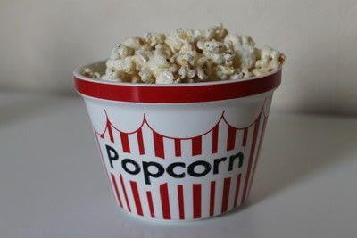 How to make popcorn. Marshmallow Popcorn - Step 6