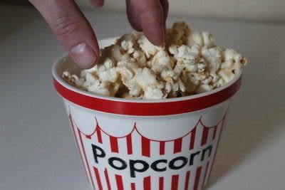 How to make popcorn. Marshmallow Popcorn - Step 7