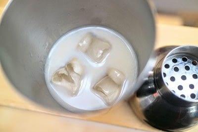 How to mix a martini. Ferrero Martini - Step 2