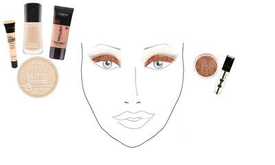 "How to create a gold eye makeup look. Taylor Swift ""Makeover"" Inspired Makeup Tutorial  - Step 2"