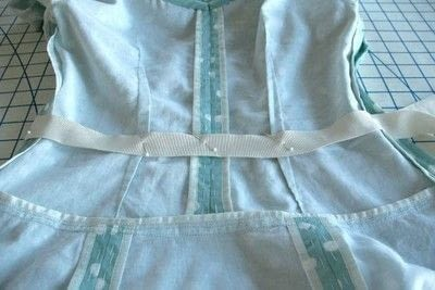 How to sew . Adding A Waist Stay To A Garment - Step 3