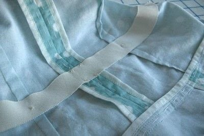 How to sew . Adding A Waist Stay To A Garment - Step 8