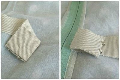How to sew . Adding A Waist Stay To A Garment - Step 12