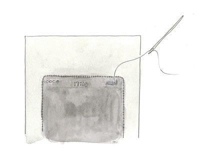 How to make a tablet sleeve. Felt Tablet Case - Step 3