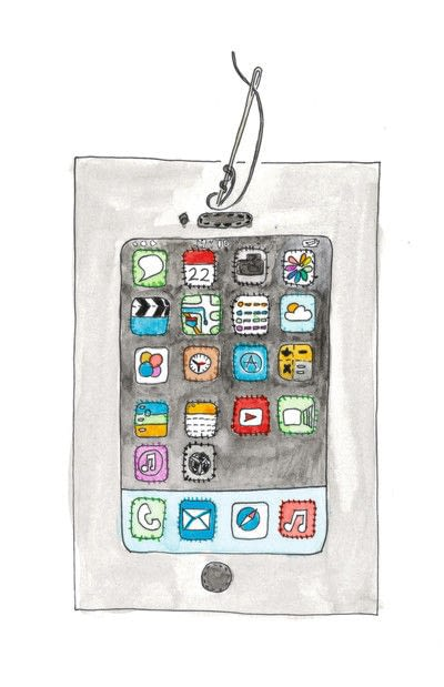 How to make a tablet sleeve. Felt Tablet Case - Step 6