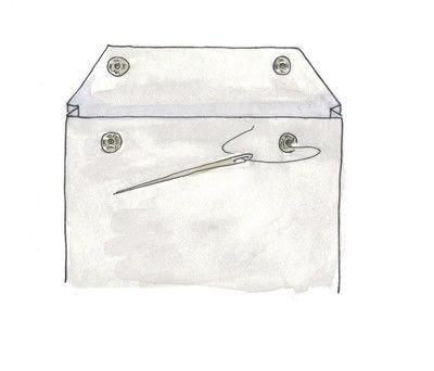How to make a tablet sleeve. Felt Tablet Case - Step 8