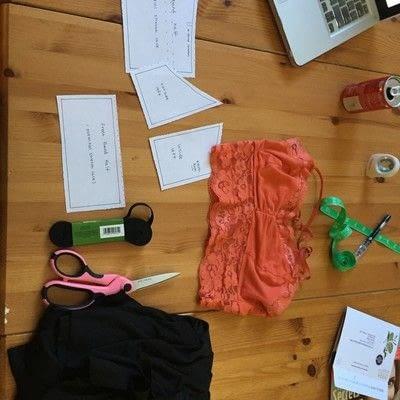 How to make a bra. Diy Bra - Step 1