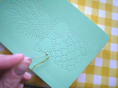 How to make a notebook journal. Embroidered Notebooks - Step 8