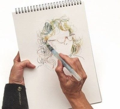 How to make a drawing. How To Draw Hair - Step 4