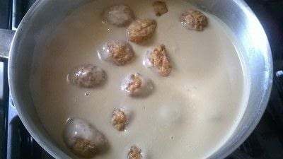How to cook a meatball. Swedish Meatballs & Gravy - Step 5