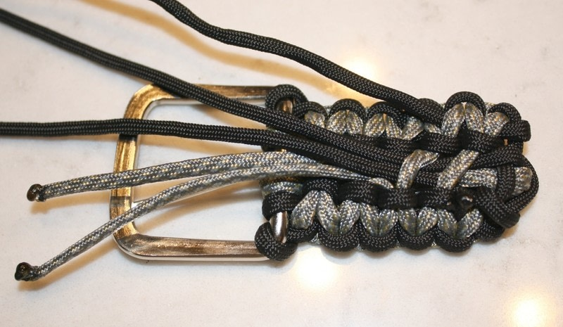 Paracord belt how to braid a braided belt other on cut for How to make a belt out of paracord