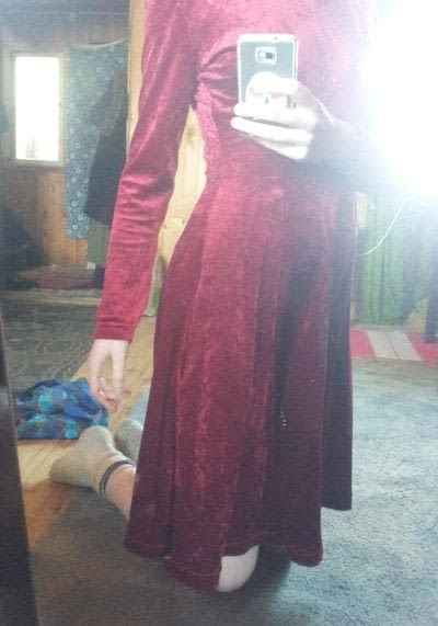 How to alter a revamped dress. Shoulder Pads To Pockets You Deserve - Step 7