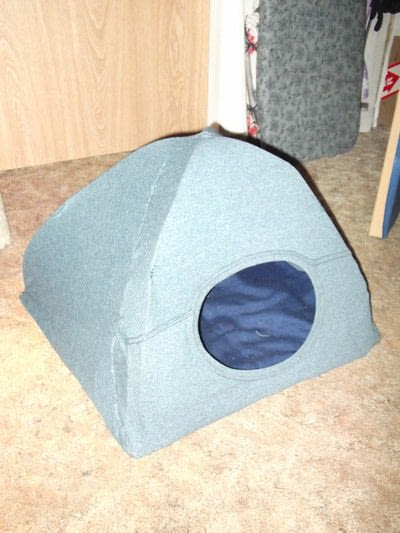 How to make a pet toy. Cat Tent - Step 6