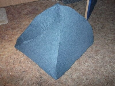 How to make a pet toy. Cat Tent - Step 8