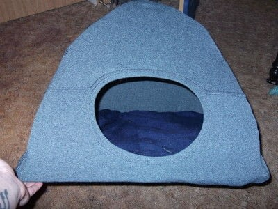 How to make a pet toy. Cat Tent - Step 11