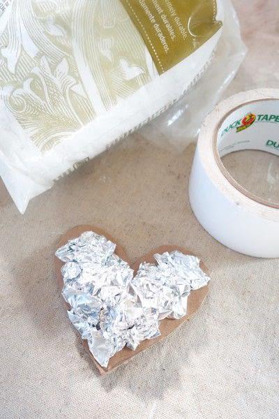 How to make a papier mache model. Paper Mache Heart - Step 2