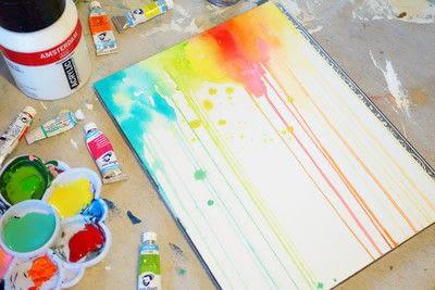 How to paint a piece of watercolor art. Watercolor & Pen Portrait - Step 2